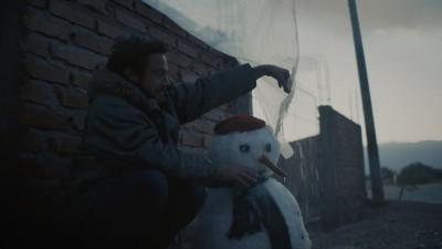 """TARJETA NARANJA """"December"""" - Nico Pérez Veiga"""